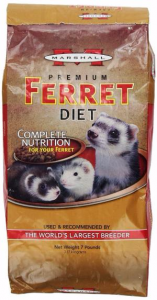 Marshall Premium Ferret Diet vs. Marshall Carnivore Plus
