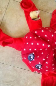 Marshall Ferret Octo-Play Sleep Sack Toy