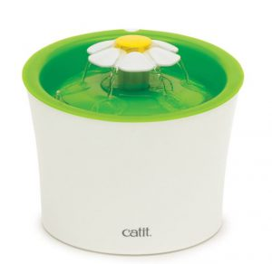 Catit Flower Cat Water Fountain Review--For Ferrets